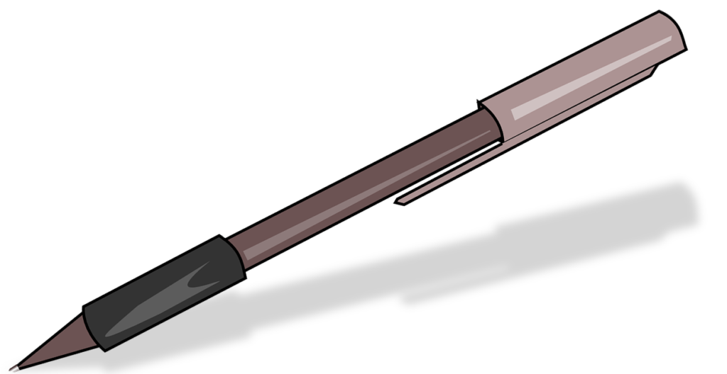 Impromptu Ink Pen Trick